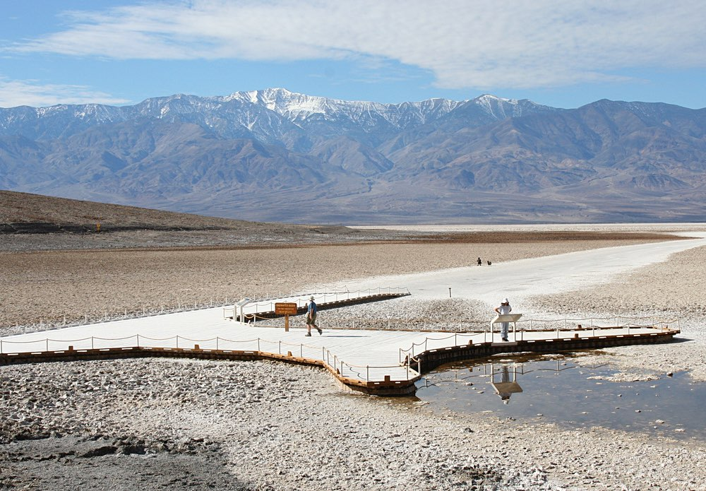 Badwater at Death Valley National Park