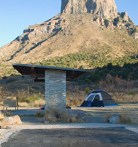 Chisos Basin Campground - Big Bend National Park
